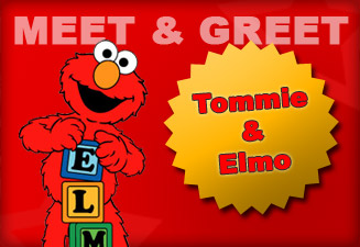 Meet & Greet Tommie en Elmo